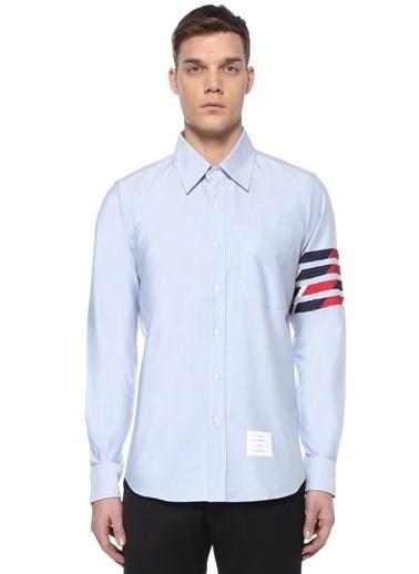 Thom Browne Gömlek Mavi